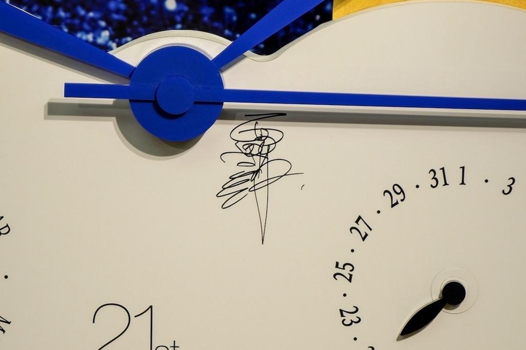 西野朗氏の直筆サイン