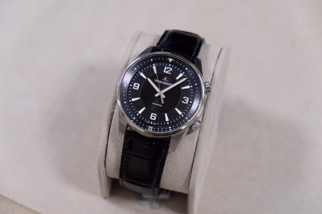 Jaeger-LeCoultre Polaris Automatic 9008471 with black strap