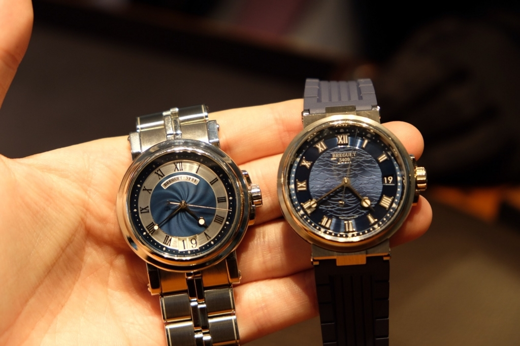 Breguet Marine Blue Dial Ref.5187 and Ref.5517