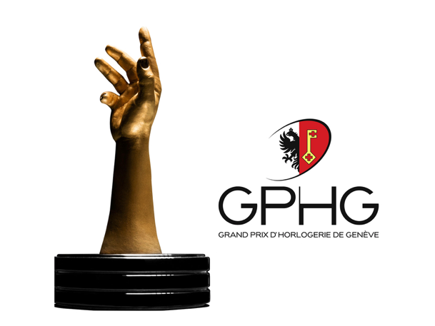 GPHG logo and trophy