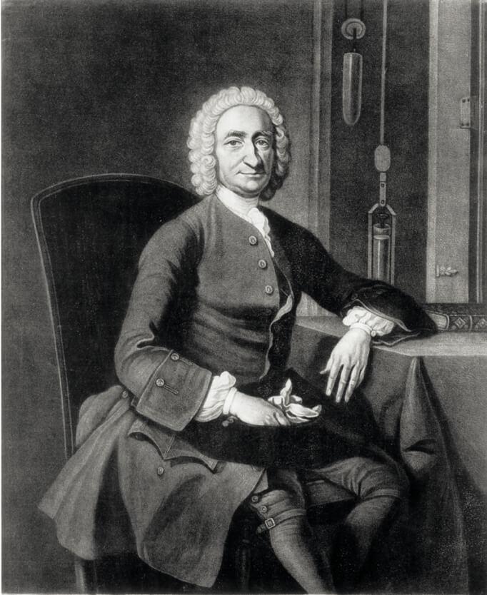時計師ジョージ・グラハムの肖像画