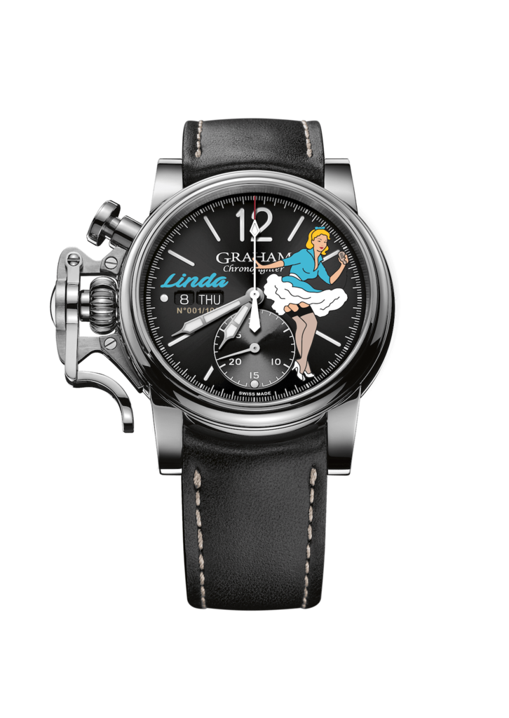 Chronofighter Vintage Noseart Linda