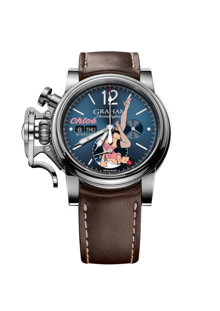 Chronofighter Vintage Noseart Chloe