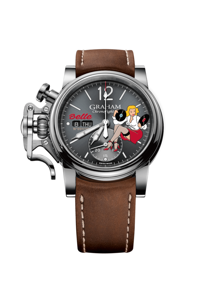 Chronofighter Vintage Noseart Belle