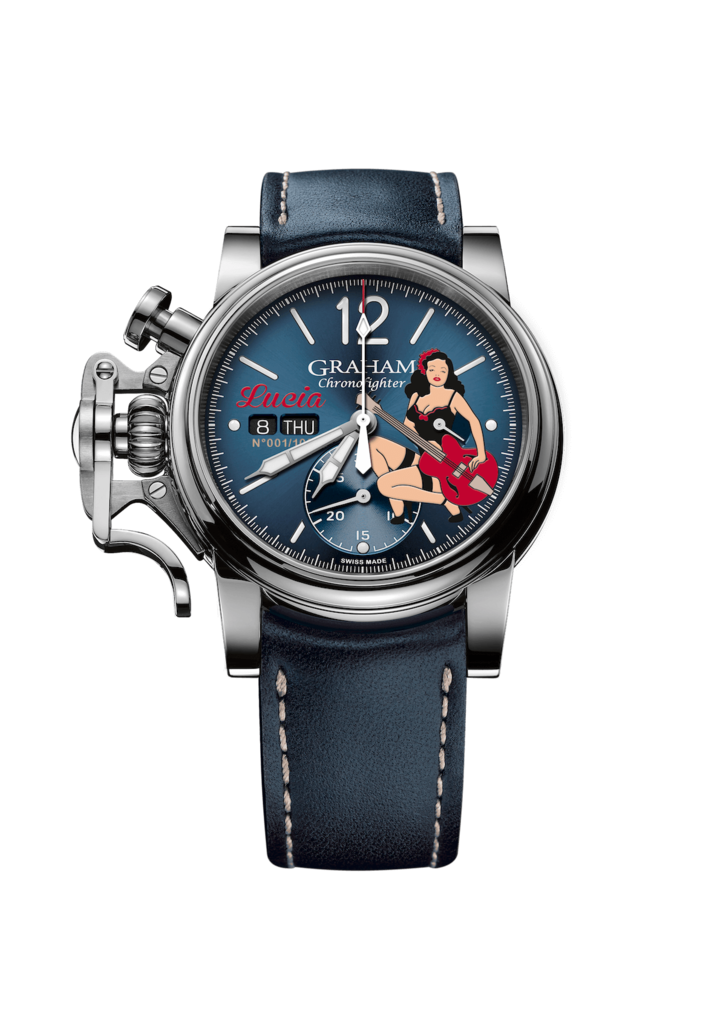 Chronofighter Vintage Noseart Lucia