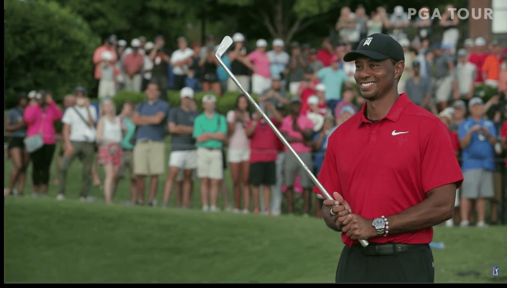 PGAツアーを優勝し復活を果たしたタイガー・ウッズ選手