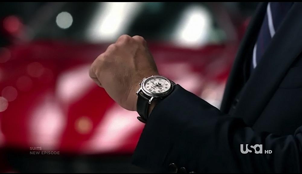 ハーヴィー・スペクターの腕時計はパテックフィリップ
