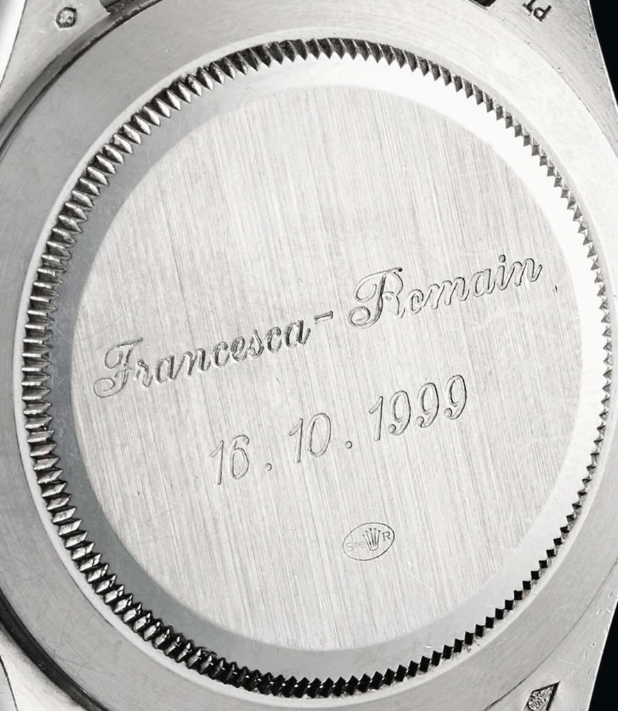Rolex Cosmograph Daytona Ref.16516のケースバック