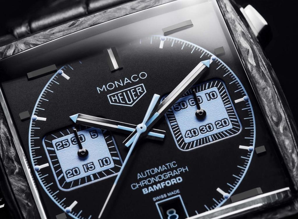 TAG Heuer Monaco Bamford Dial