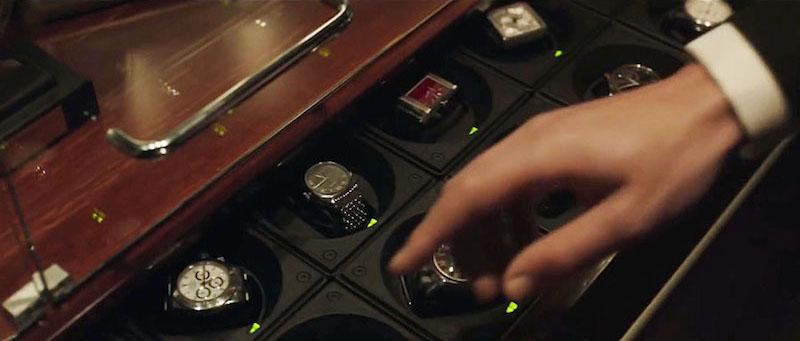 ドクターストレンジの時計コレクションが入った引き出し