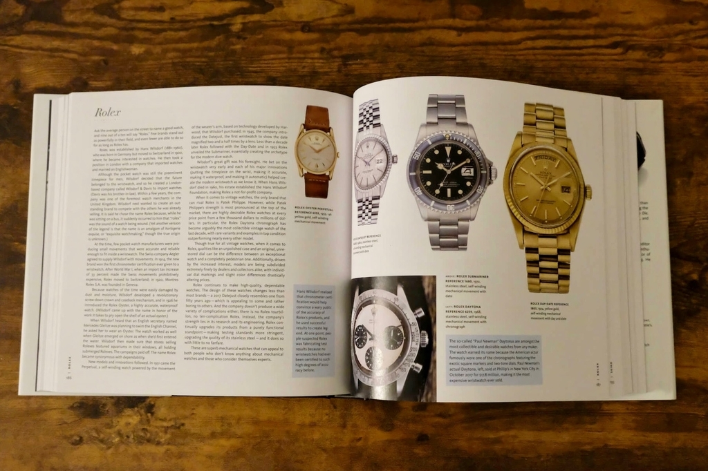 The Watch, Thoroughly RevisedのRolexのページ