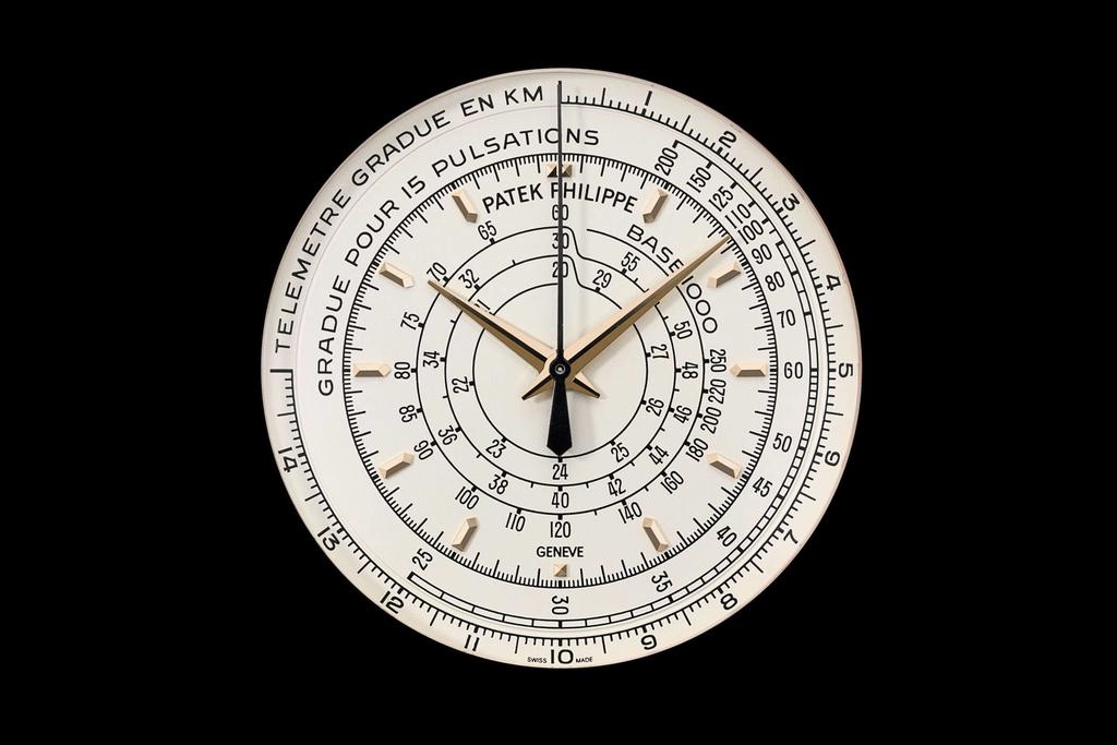 パテックフィリップ5975の文字盤