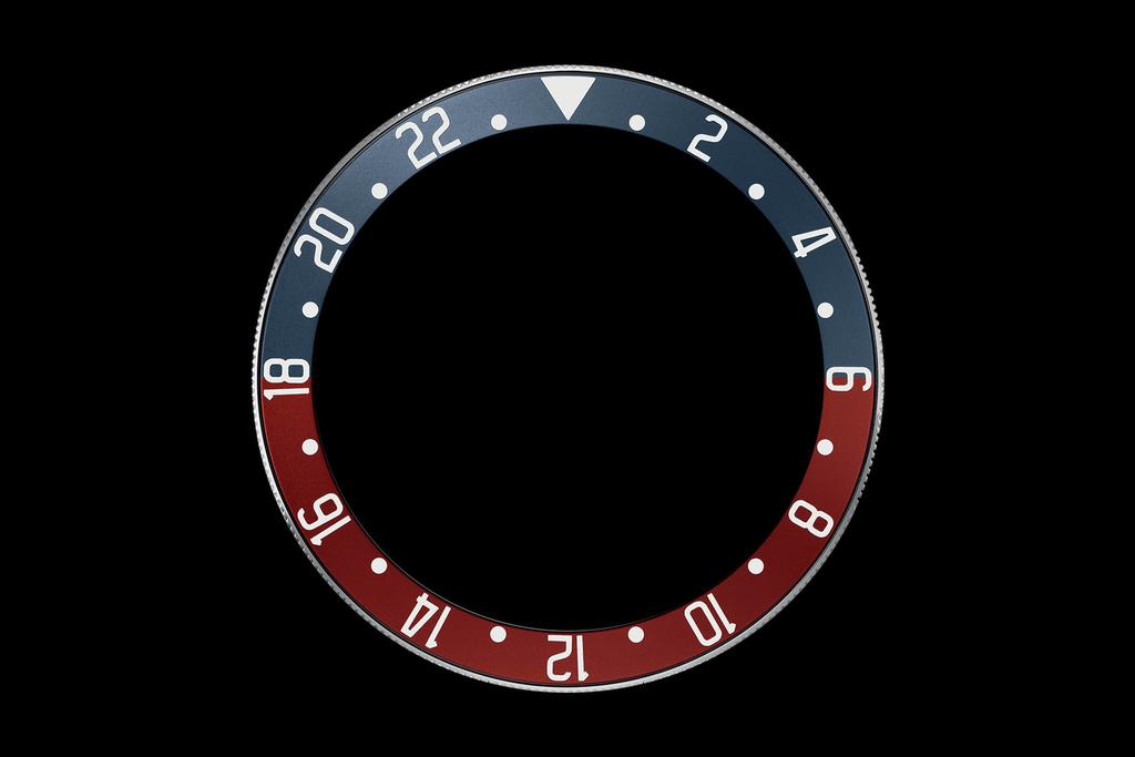 チューダー ブラックベイ GMTのベゼル