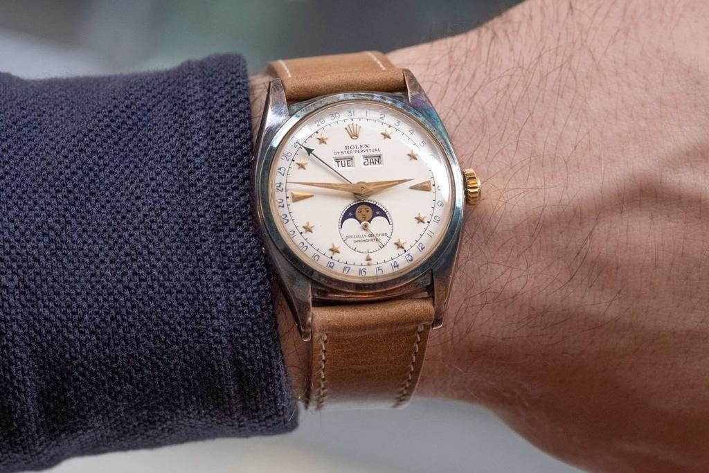 Rolex Ref.6062 Dark Star 着用イメージ