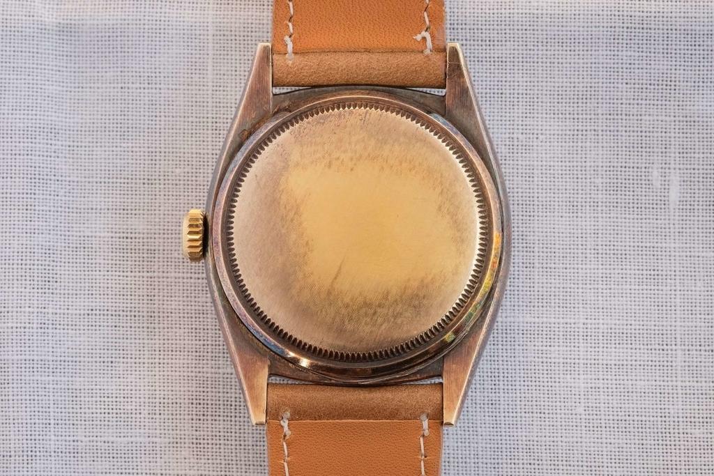 Rolex Ref.6062 Dark Starのケースバック