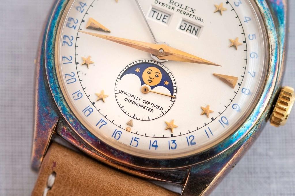 Rolex Ref.6062 Dark Starの文字盤