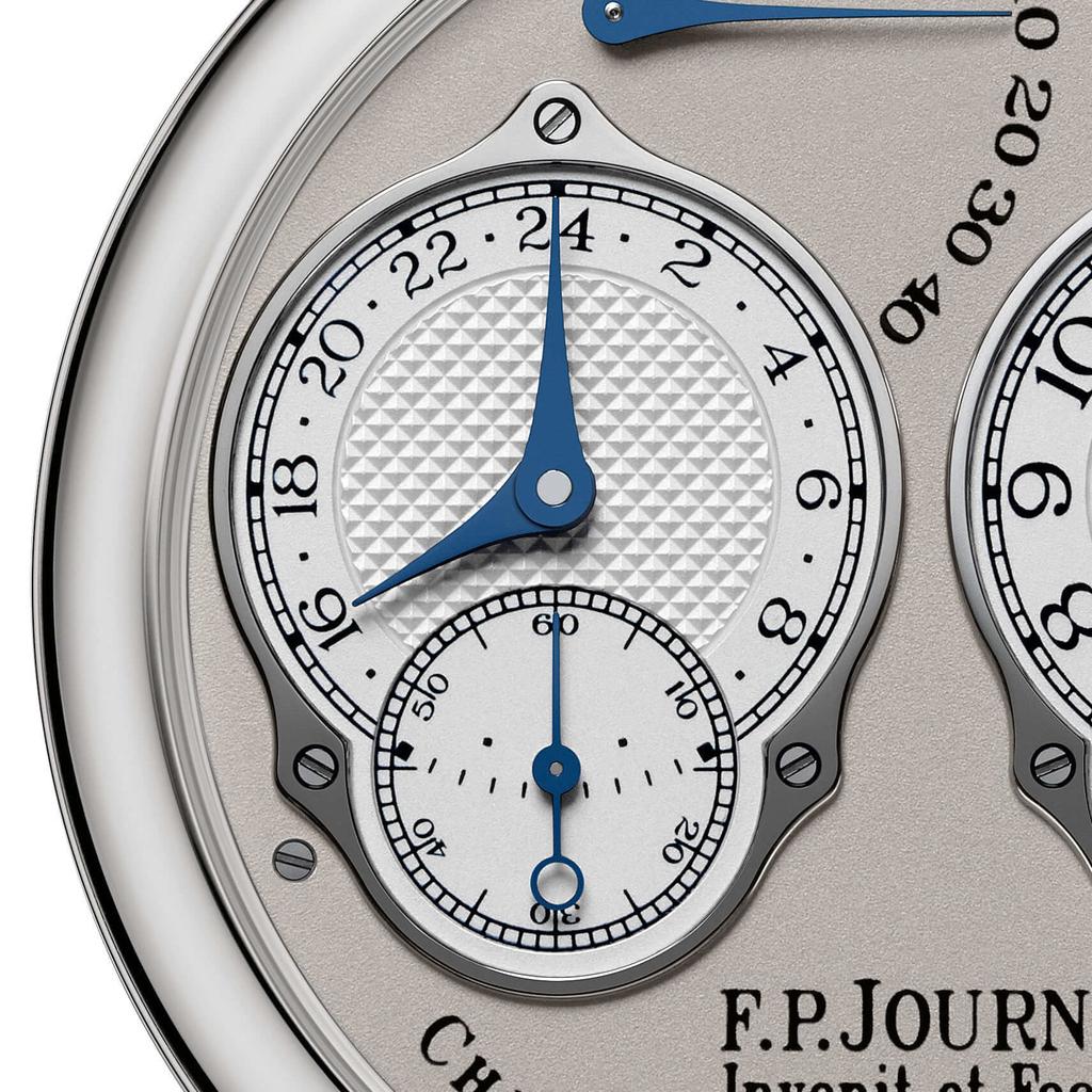 F.P.ジュルヌ クロノメーター・レゾナンスの24時間表示