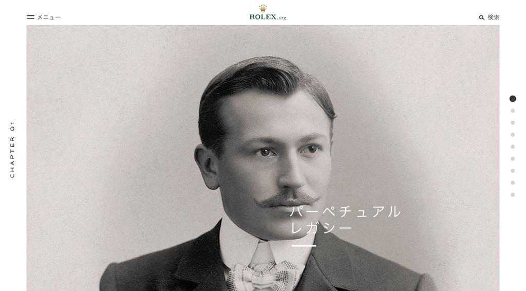 ロレックスの創業者ハンス・ウィルスドルフ