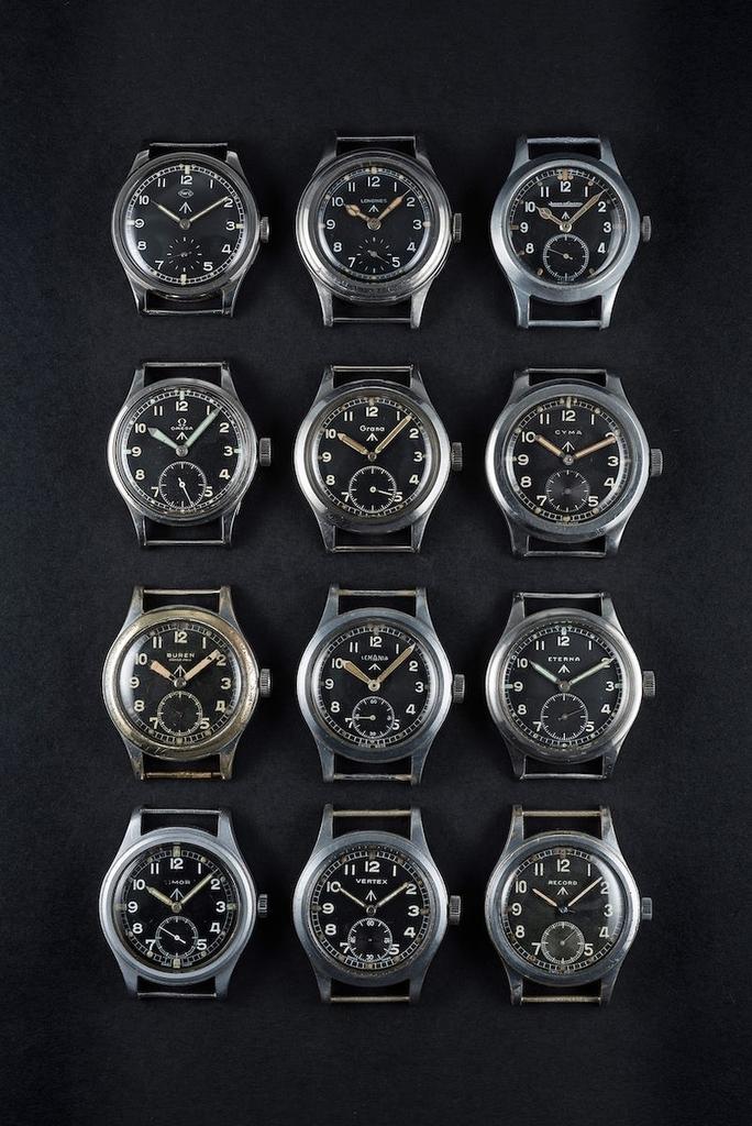 イギリス軍が発注した軍用時計ダーティダース