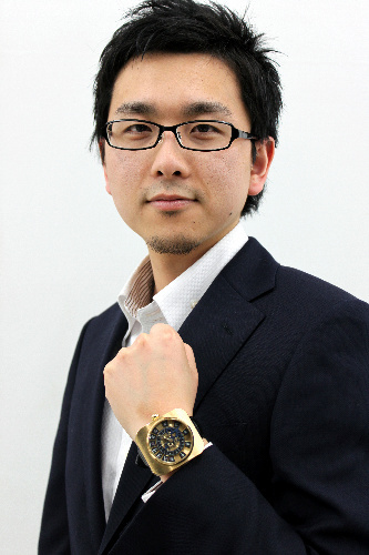 2011年AHCI準会員に選ばれた際の菊野氏