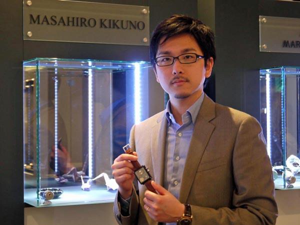 2013年AHCI正会員に選ばれた際の菊野氏