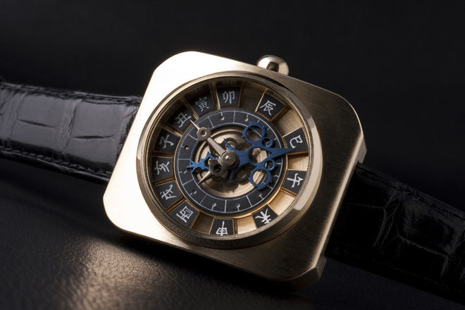 不定時法腕時計(和時計)