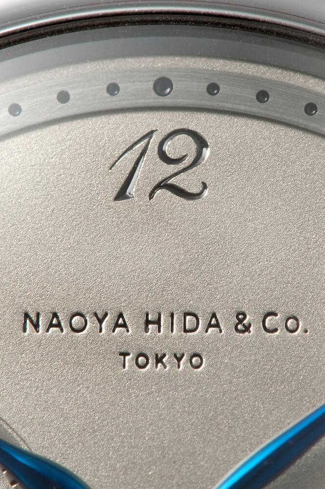 NAOYA HIDA & Co. NH TYPE 1Bの文字盤