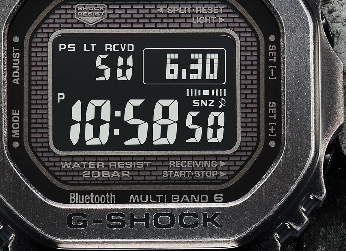 G-SHOCK GMW-B5000V-1の文字盤
