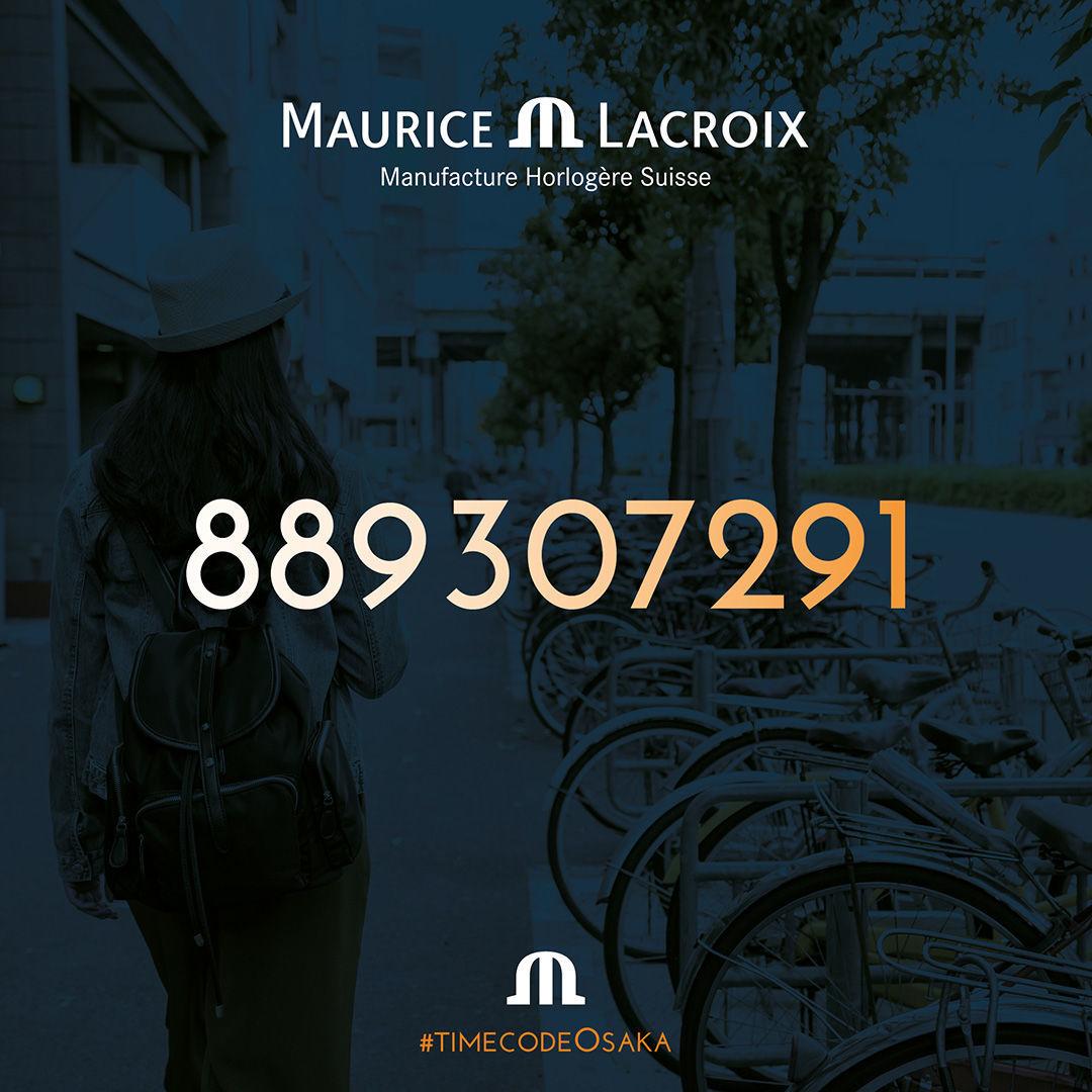 モーリスラクロア タイムコード: 889 307291