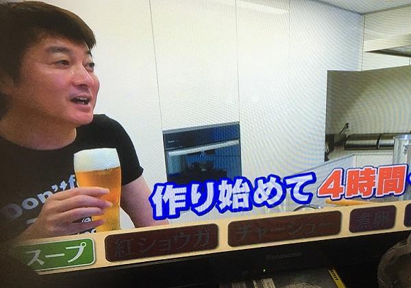 スッキリ「加藤浩次豚骨ラーメンをゼロから作る」