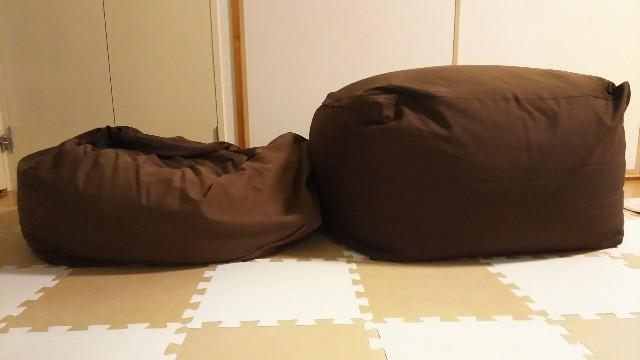 新品と5年使用したソファを比較してみた