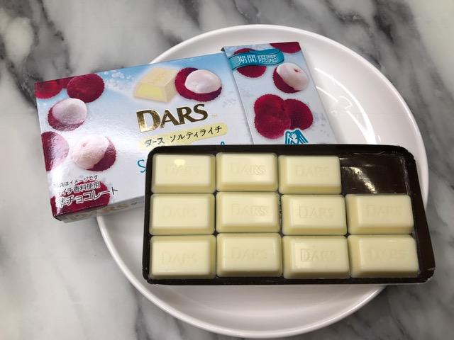 ホワイトチョコレートのまろやかなミルキー感に、ライチの瑞々しい風味にさわやかな味で私を幸せな気分にしてくれました。