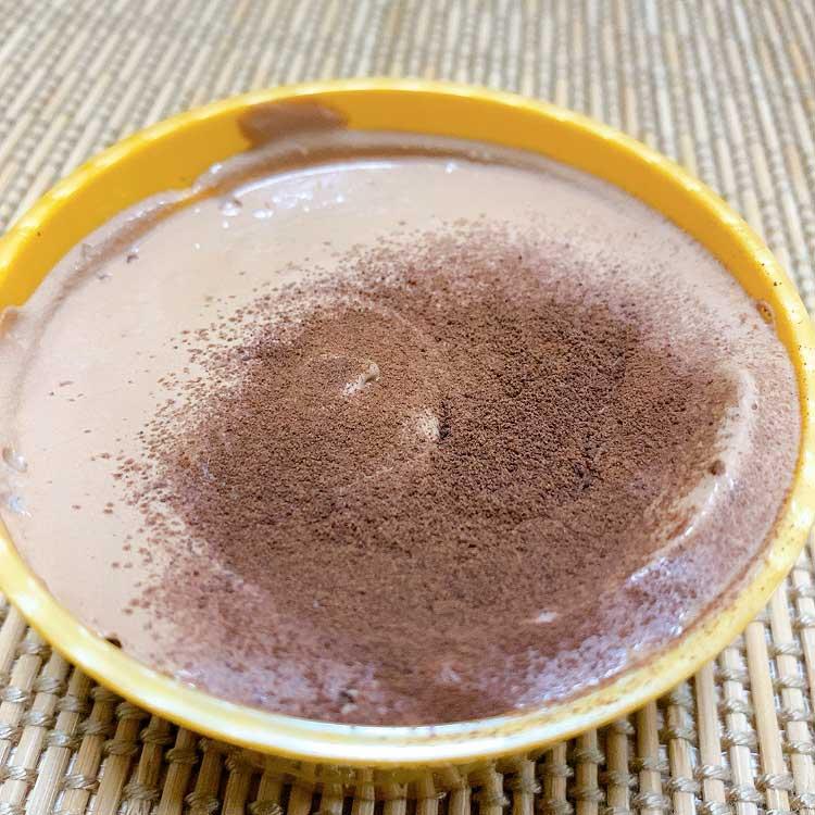 メルティショコラは2層仕立てのとろける口溶け!