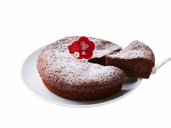 迎春 ガトーショコラクラシックはベルギー産チョコを使用♪