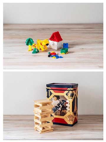 5歳以上になると論理的思考力や集中力を養うおもちゃになります。