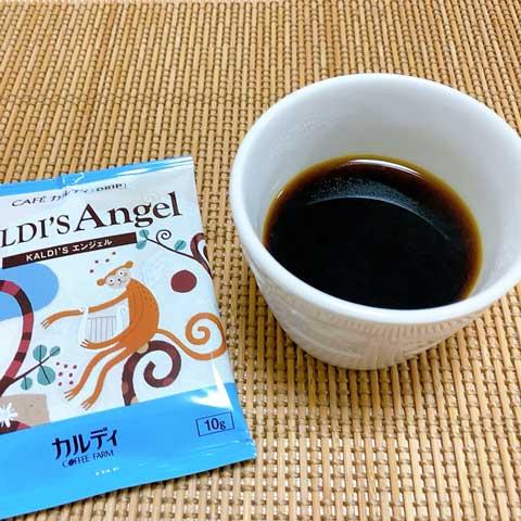 """シンプルに""""うまい""""!苦さの中にもマイルドさ香るエンジェルコーヒー!"""