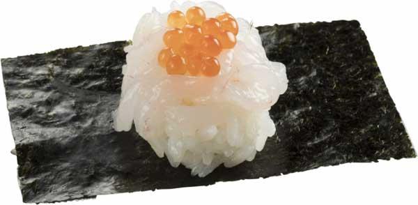 富山湾岩瀬漁港の白えび