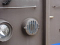 広島支社お手製のタイフォンカバー(ビニール製)
