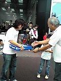 受賞者重量コンテスト