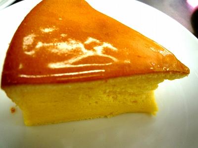 スフレチーズケーキの試食