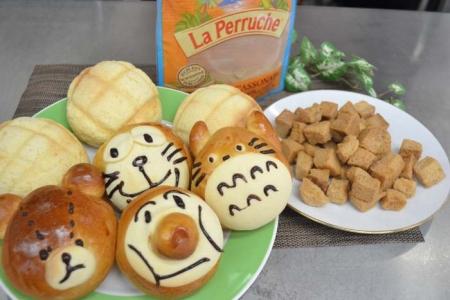 親子パン教室①