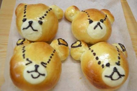 親子パン教室②