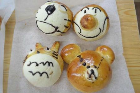 親子パン教室③