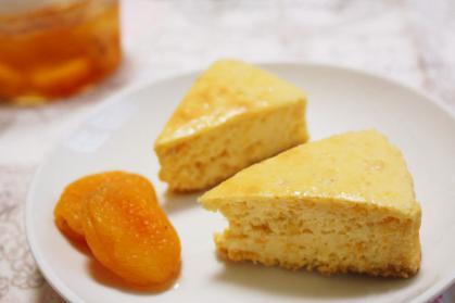 アプリコットチーズケーキ