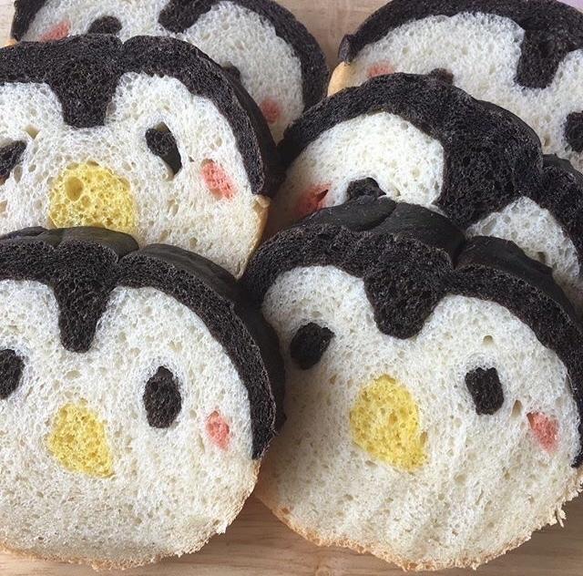 デコ食パン教室ペンギン