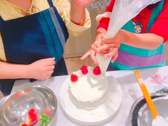 クリスマスケーキ作り4