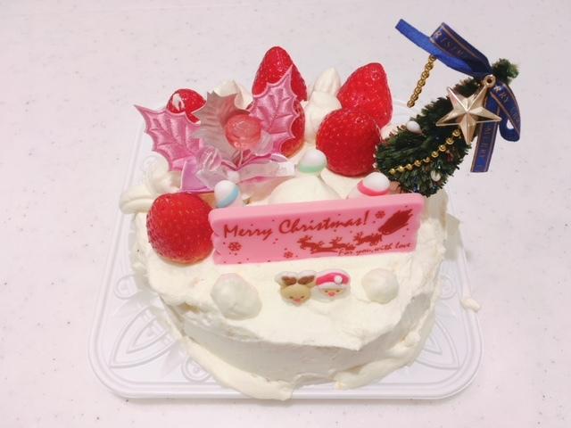 クリスマスケーキ作り6