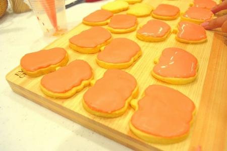 アイシングピンクかぼちゃ