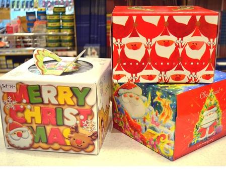 2018クリスマス箱5寸