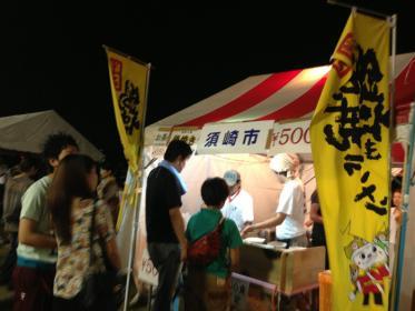 土佐の宵祭り2013 鍋焼きラーメン2